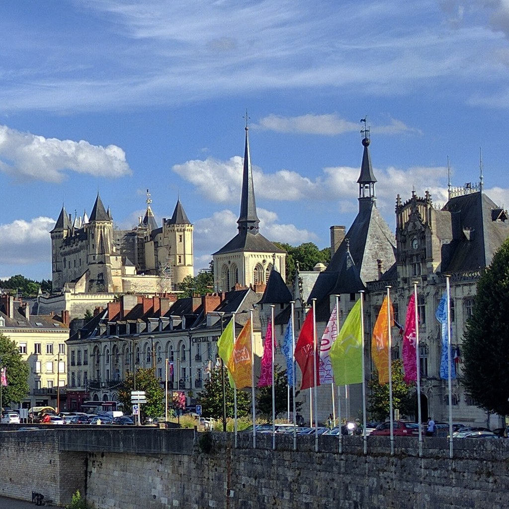 The chateau at Saumur on the Loire