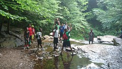 Teen Adventure Boys at Ricketts Glen