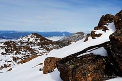 20160807-25-Rodway Range bouder Field completely filled with snow (Roger T Wong) Tags: australia mtfield mtfieldnationalpark np nationalpark rodwayrange sel1635z sony1635 sonya7ii sonyalpha7ii sonyfe1635mmf4zaosscarlzeissvariotessart sonyilce7m2 tasmania bushwalk hike outdoors snow tramp trek walk winter