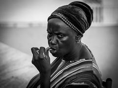 Portrait femme (totofffff) Tags: street 2 white black france film festival alpes french riviera noir cannes 10 d mark olympus ii e om blanc maritimes croisette mditerrane