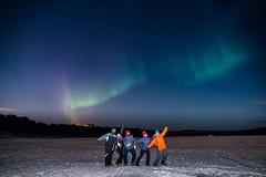Inari (fernando garca redondo) Tags: sky finland nightly inari cielo aurora nocturna artic northernlights finlandia rtico auroraboreal