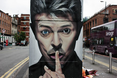 """"" (Marcus Yau) Tags: streetart david manchester bowie davidbowie mcr"
