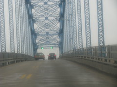 Driving thru Buffalo, NY (William Wilson 1974) Tags: travel bridge buffalo traffic bridges buffalony trafficjam grandisland peacebridge buffalonewyork