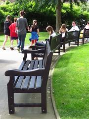 Benches (Pat's_photos) Tags: london bench hbm