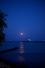 """Il Baretto"" #marinaromea #nikondf #summer #sea #moonlight (lucagiuliani1) Tags: marinaromea nikondf summer sea moonlight"