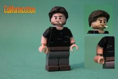 Custom LEGO Californication | Hank Moody (The FUDGY) Tags: hank moody novelist californication cigarette sculpty custom lego