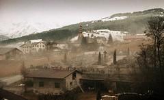 Combloux, lomography, 21 (Patrick.Raymond (2M views)) Tags: alpes haute savoie montagne neige brume brouillard combloux argentique village lomography xpro nikon expressyourself beautifulphoto