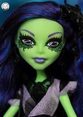 Ready for my close up... (PrinceMatiyo) Tags: amanitanightshade mattel doll monsterhigh