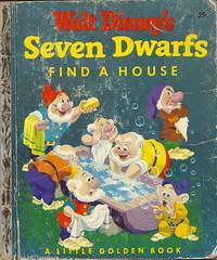 SEVEN-DWARFS-FIND-A-HOUSE-1948-1952 (The Holding Coat) Tags: waltdisney littlegoldenbooks snowwhiteandthesevendwarfs