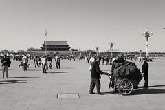 #tiananmensquare #china #beijing #blackandwhitephotography #travel #world #pekin #photography (Paulina K Photography) Tags: blackandwhitephotography tiananmensquare china photography bejing pekin world travel