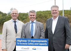 Highway 13 in Aldergrove to be widened to support cross-border traffic (BC Gov Photos) Tags: aldergrove border crossing highway trucks road traffic transportation ministry bc gov british columbia langley canada lynden