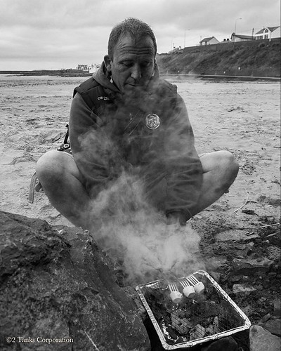 The S'mores King...  From our 'Summer' trip to Enniscrone last month.