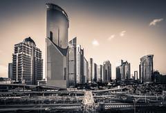 sun city (Rob-Shanghai) Tags: shanghai cbd lujiazui pudong china cityscape leica m240 mono wide cv12mm