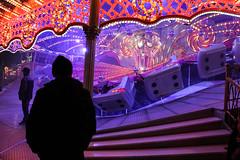 Solitary at Weihnachtsmarkt (sean.hardies) Tags: berlin gemany ride weihnachten weihnachtsmarkt alexanderplatz christmas deutschland silhouette solemn