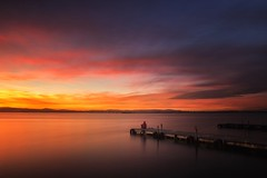 Relax (Anto Camacho) Tags: valenciancommunnity valencia lake albufera sunset waterscape longexpoure bigstopper loneliness alone sky clouds colours