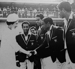 Farewell Hanif Muhammad, 81 our best batsman ever (Doc Kazi) Tags: pakistan history heritage sports cricket batsman caprain hanif muhammad mohammed