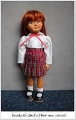 New School (Balancing Kiwi) Tags: hazel woodenbleuette schooluniform sewing dressmaking