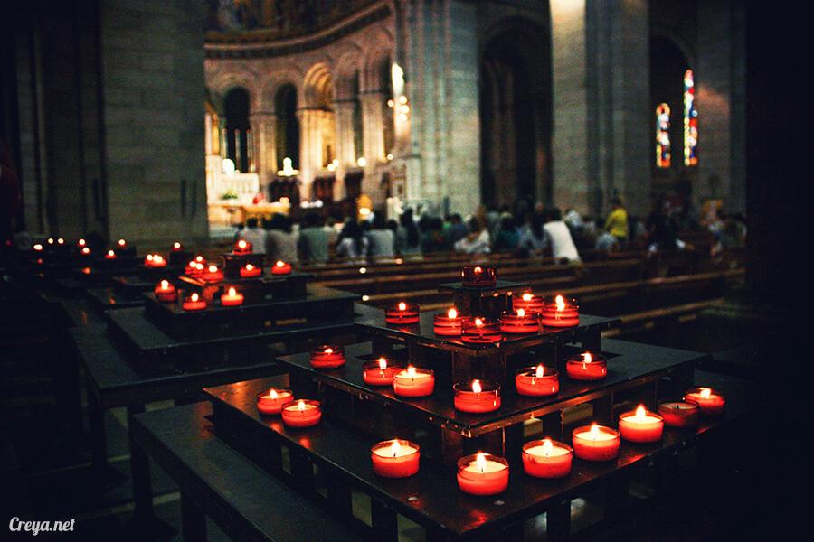 2016.10.02 ▐ 看我的歐行腿▐ 法國巴黎一日雙聖,在聖心堂與聖母院看見巴黎人的兩樣情 12