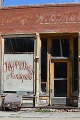 No Fonzie (David Sebben) Tags: happy days abandoned antique store fonzie good hope illinois