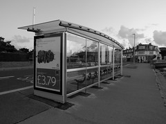 mega bus shelter (dawn.v) Tags: sandbanks poole dorset uk england september 2016 coast seaside lumixlx100 busstop busshelter
