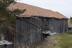 abandoned IV (One in Hole) Tags: barn decay abandonedfarm fujifilmx100s