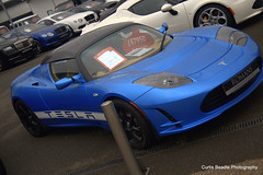 Tesla Roadster (ForzaMad17 (Curtis Beadle)) Tags: cars romans