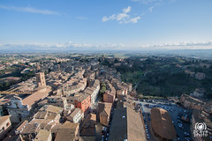 Panorama dalla Torre del Mangia (andrea.prave) Tags: italien italy panorama tower italia torre tuscany siena toscana toscane italie mangia toskana piazzadelcampo  torredelmangia           discovertuscany visittuscany