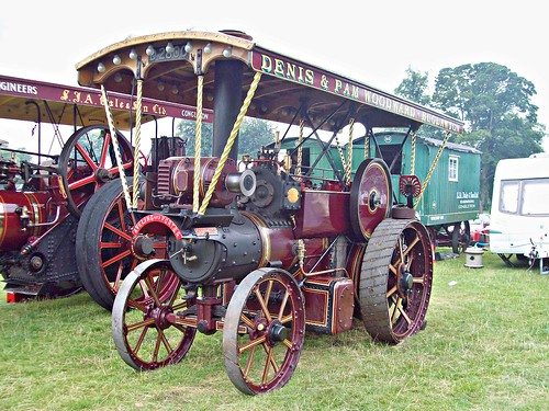 380 Aveling + Porter Showmans Tractor (1906)
