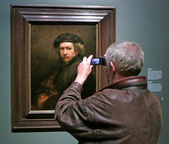 De Neus - The Nose (Harry -[ The Travel ]- Marmot) Tags: city urban selfportrait holland art netherlands dutch amsterdam museum painting kunst capital nederland schilderij national mokum rijksmuseum zelfportret rembrandt hollands selfie thenose rijks stadsarchief nachtwacht pierrecuypers rembrandtvanrijn deneus hallofhonor oudemeester hollandsemeester olympusomdem5 lumixgvario1235f28 laterembrandt allrightsreservedcontactmebyflickrmail