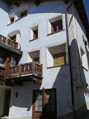 Chesa Pol, Samedan, district de Maloja, Engadine, canton des Grisons, Suisse.