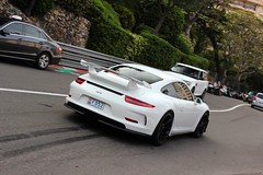 Porsche GT3 (MonacoFreak) Tags: summer sun white top 911 montecarlo monaco porsche marques gt3 2015 topmarques