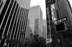 (suitoffexpo) Tags: california ca go stop faded financialdistrict urban upshot blackandwhite bw streetphotography downtown sanfrancisco sf street