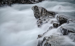 Coming Up For Breath (Nigel Jones LRPS) Tags: nikefex water torrent waterfall river glacial melt norway