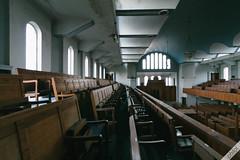 Uncomfortable (philal.) Tags: abandoned synagogue urbanexploration grime derelict ue lightroom urbex abandonedplaces lightroompresets greenbanksynagogue abandonedporn