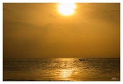 Golden Hours (Shan | Capture Machine) Tags: ocean morning india beach colors yellow sunrise boat fisherman asia sailing weekend sunday ngc photowalk shan chennai tamilnadu twop kovalam southasia bayofbengal cwc goldenhours lifeintamilnadu seaseascape nammachennai chennaiweekendclickers cwcwalk mychennai outerchennai capturemachine shanmuganathanphotography walk540 lifeinndia