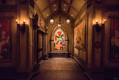 A Beastly Mural (Michael Billick) Tags: colors photography orlando nikon florida disneyworld wdw waltdisneyworld resorts kissimmee hdr magickingdom beautyandthebeast amusementparks disneyparks newfantasyland nikond810 disneyphotography beourguestrestaurant disneyphotoblog