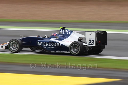 Steijn Schothorst in the Campos Racing car in the GP3 Race at the 2016 British Grand Prix