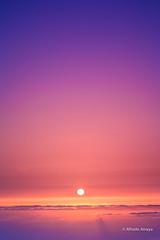 It's time for dreaming (Alfre2 Amaya) Tags: landscape landscapes canaryislands canarias islascanarias lagomera largaexposicin longexposure sky sunset clouds sun atardecer