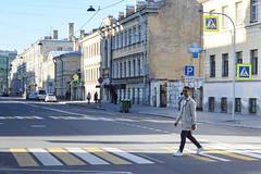 walking man (ola_alexeeva) Tags:      street man   crosswalk walking style