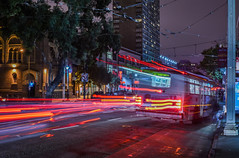 last minute stop (pbo31) Tags: sanfrancisco california august 2016 nikon d810 boury pbo31 bayarea summer muni bus stop motion motionblur vannessavenue pacificheights