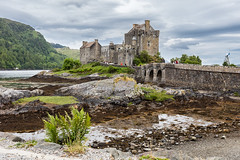 Eilean Donan Castle (pauldunstan1968) Tags: castle rock architecture landscape scotland ruins outdoor scottish highland eilean donan