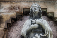 Angel (Catherine Sharman) Tags: hdr scotland britain travel death victorian mono gothic necropolis europe graveyard glasgow