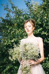 _MG_9631 (frau88) Tags: wedding white flower portrait pretty happy beaty beatiful bokeh girl model modeltest smile summer sun sunset vsco forest helios fashion