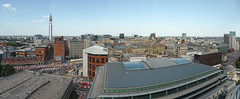 Looking North-east (neuphin) Tags: birmingham library secret roof garden view panorama
