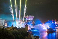 Harbor Lights (kos270) Tags: nikon night disney tds tokyodisneysea tdr landscape towerofterror mediterraneanharbor fantasmic fireworks