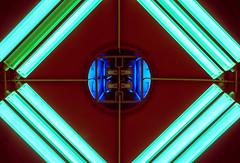 Blue Core Lamp Distortion Detector (*Capture the Moment*) Tags: 2015 architecture architektur dynamic dynamik farbdominanz gern huserwohnungen innenarchitektur insightview interiordesign licht light munich subway ubahn blau blue
