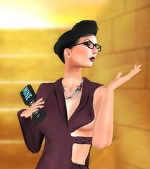 "Elegance Boutique -Dress  ""Carmen"" - Claret (Anne Daumig) Tags: slfashionartphotography uniquecreations annedaumig belleza slink ikon madridsolomaitreya meshbody eleganceboutique cosmopolitan jambee kunglers fetch romp kokolores hairfair2016"
