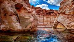 Antelope Canyon (shchukin) Tags: landscape canyon antelopecanyon reflection shchukin nikond5200 sigma arizona usa navajotribalpark