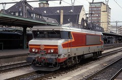 15021  Luxembourg  27.08.93 (w. + h. brutzer) Tags: luxembourg eisenbahn eisenbahnen train trains frankreich france railway elok eloks lokomotive locomotive zug 15000 sncf webru analog nikon