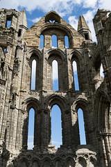 upwards (pamelaadam) Tags: thebiggestgroup fotolog digital building abbey august summer 2016 holiday2016 kirk faith spirituality whitbyabbey whitby engerlandshire geolat54488357 geolon0607733